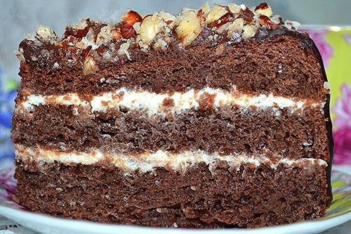 бисквит торт рецепт с фото